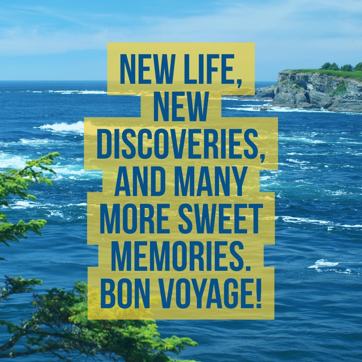 100 Bon Voyage or Have a Safe Trip Messages (Plus Quotes ...