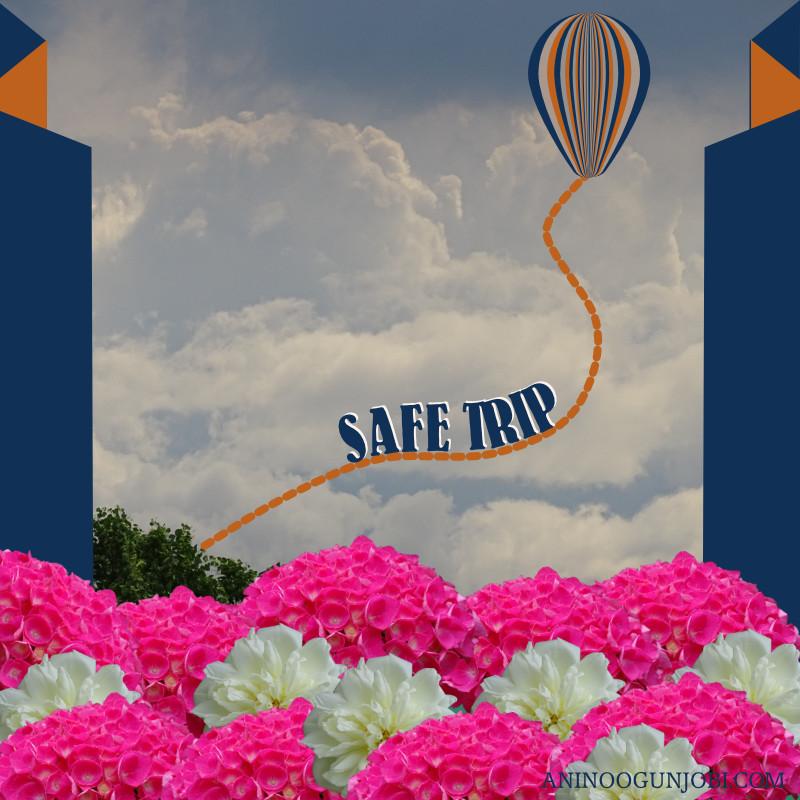'Safe Trip' Greeting Card for November 2019   ANINO
