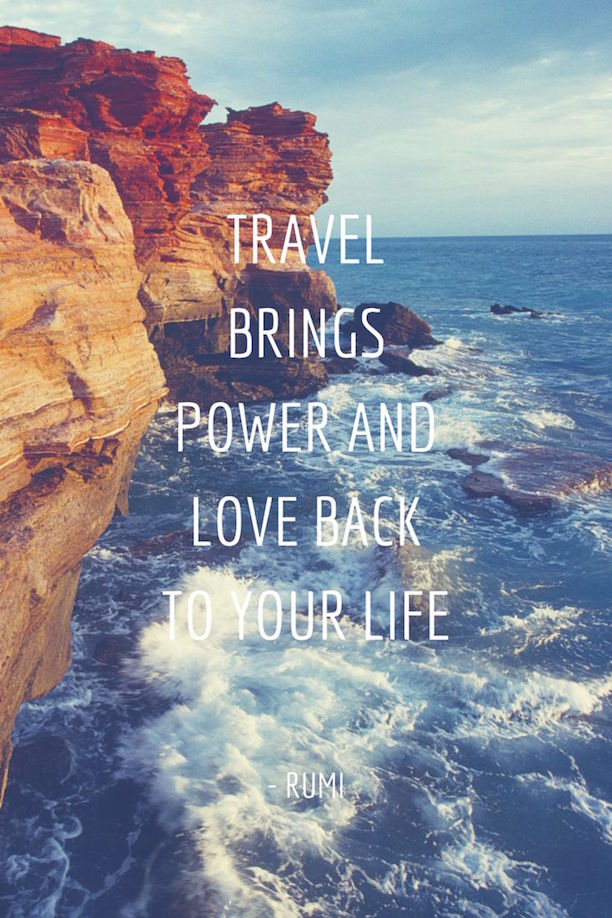 Quotes To Inspire Your Travels | because im addicted