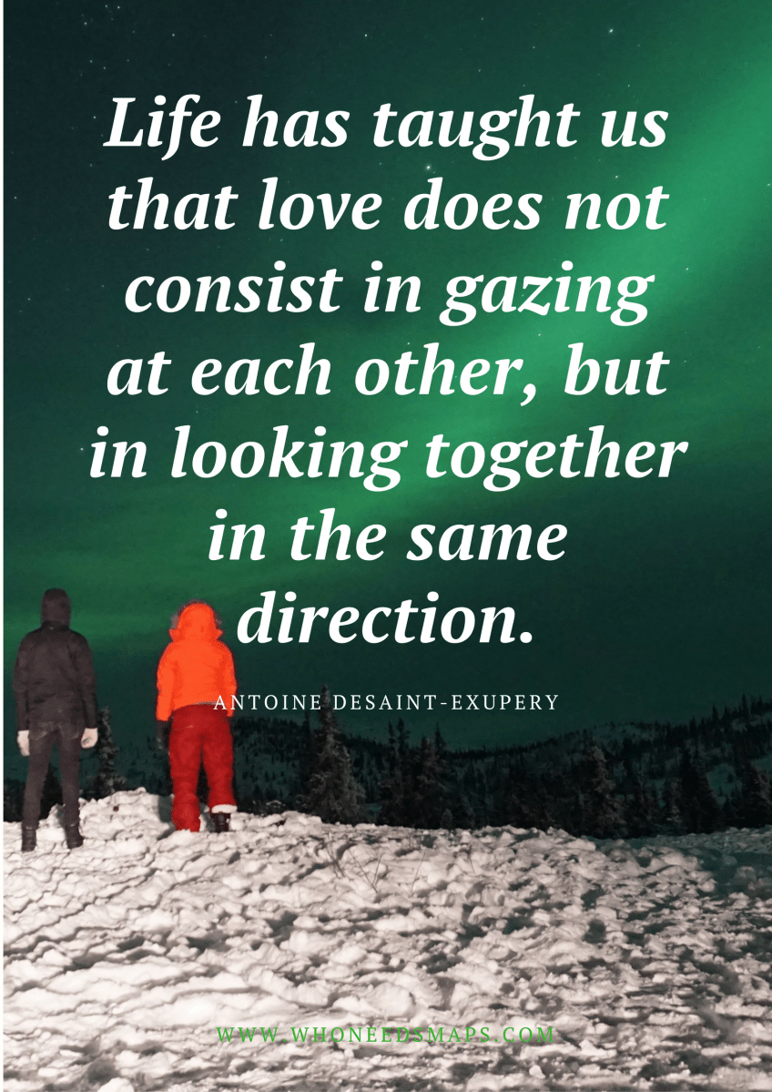 Best Travel Quotes for the Traveling Couple - Who Needs Maps