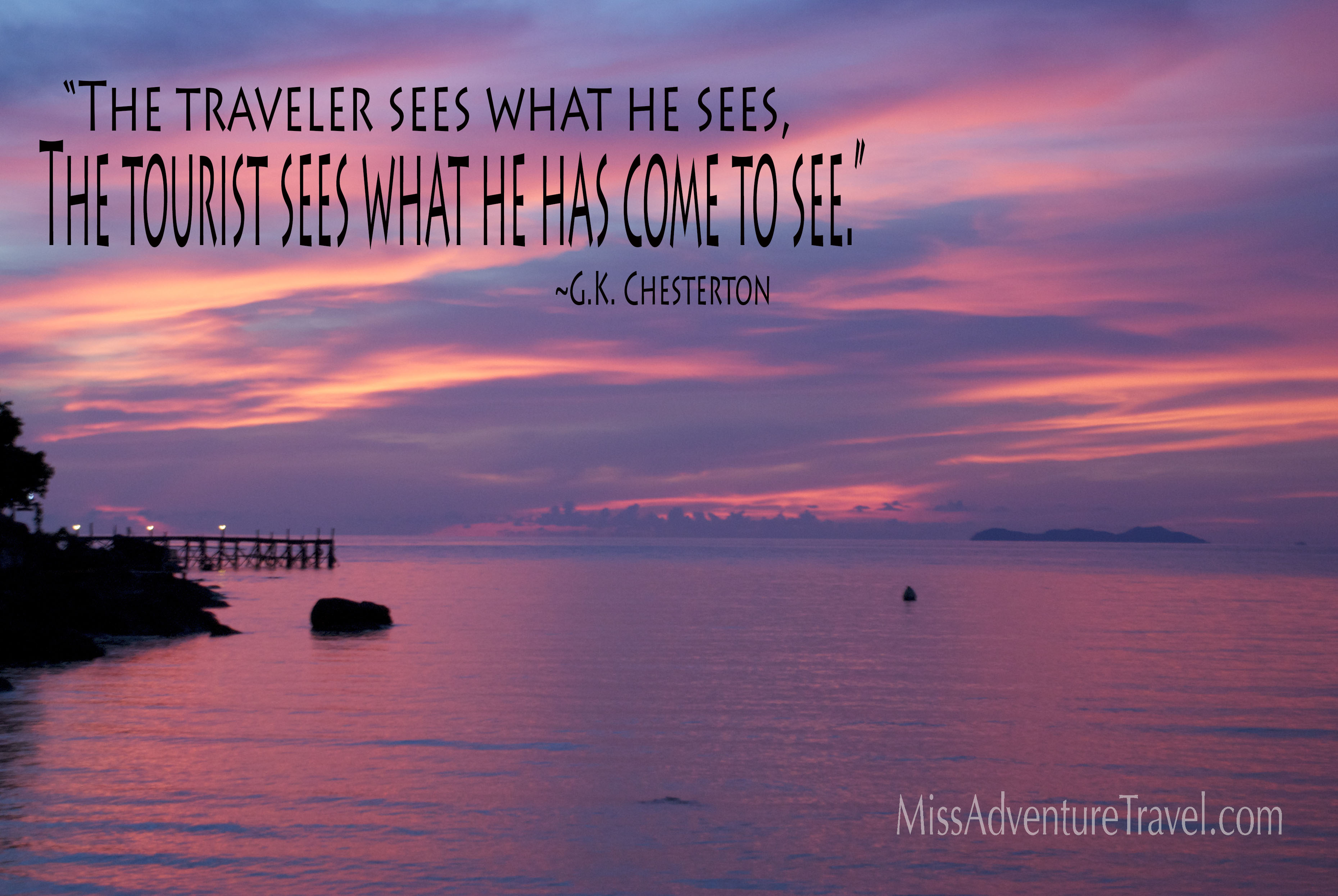 Travel Quotes - MissAdventure Travel