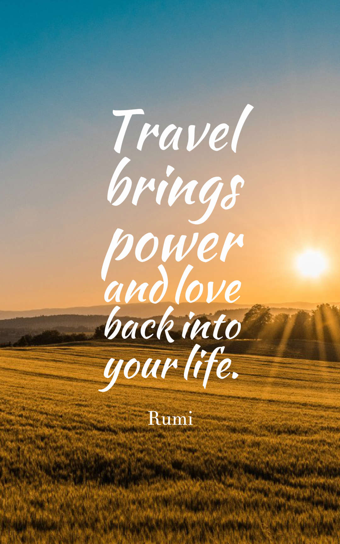 72 Inspirational Travel Quotes - Short Travel Quotes With ...